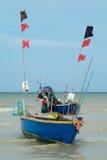 钓鱼泰国的小船 图库摄影