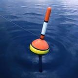钓鱼浮动 免版税库存图片
