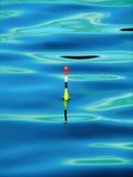 钓鱼浮动 免版税库存照片