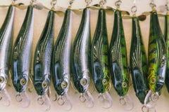 钓鱼的诱饵 免版税库存图片