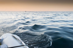 钓鱼竿 免版税图库摄影