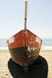 钓鱼老西班牙语的小船 免版税图库摄影