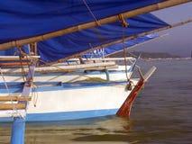 钓鱼菲律宾的3条小船 图库摄影