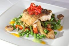 钓鱼蔬菜 免版税库存照片