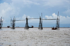 钓鱼-马来西亚 库存图片