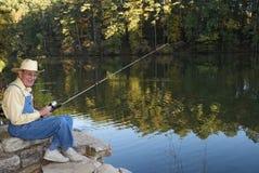 钓鱼 免版税库存图片