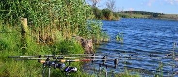 钓鱼1 免版税库存图片