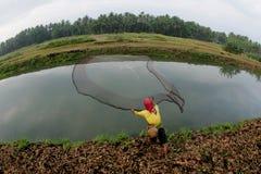 钓鱼 图库摄影