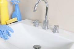 钙化的水槽 免版税库存图片