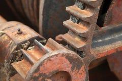 钝齿轮 免版税库存照片