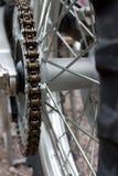 钝齿轮dirtbike 免版税图库摄影