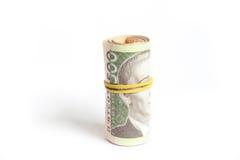 钞票乌克兰 免版税库存照片