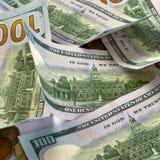 钞票和硬币美国 背景更改颜色容易的财务ps 保存mo的概念 免版税库存图片