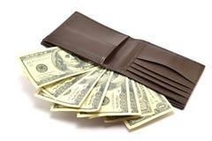 钞票100美元 库存照片