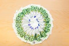 钞票堆 库存图片