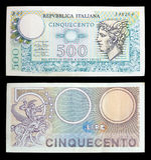 钞票意大利老 库存照片