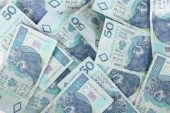 钞票波兰 图库摄影