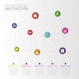 钞票电灯泡企业想法光 Infographic抽象 图标 向量 免版税库存图片