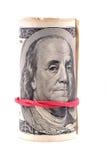 钞票美元一百一个 图库摄影