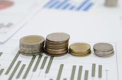 钞票美元财务图形鼠标计划 免版税图库摄影