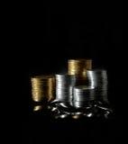 钞票美元财务图形鼠标计划 库存图片