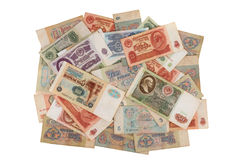 钞票苏联 图库摄影
