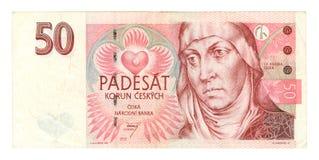 钞票货币老纸张 免版税库存照片