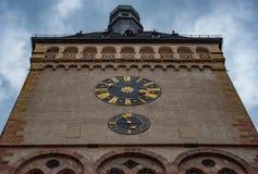 钟塔在德国 库存照片