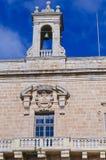 钟楼和宫殿阳台 免版税库存照片