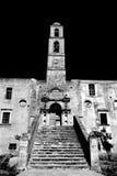 钟楼在克利特 免版税库存照片