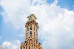 钟楼在吉兰丹,马来西亚 免版税库存照片