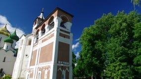 钟楼在圣徒Euthymius修道院里  影视素材