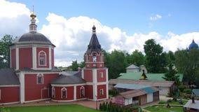钟楼在圣徒Euthymius修道院里  股票视频