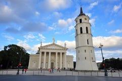 钟楼在大教堂广场 免版税库存图片