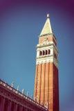 钟楼在威尼斯 免版税图库摄影