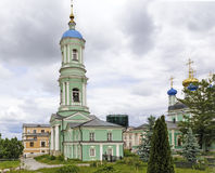 钟楼在正统修道院里 库存照片