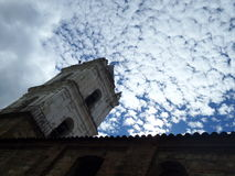 钟楼在波哥大 库存照片