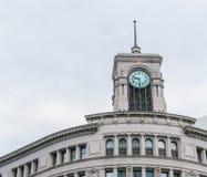 钟楼在银座,东京 库存照片
