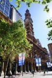 钟楼在马丁位置,悉尼 免版税库存照片