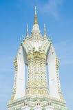 钟楼在Wat Pho的区域 免版税图库摄影