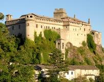 钟楼塔和城堡 库存图片