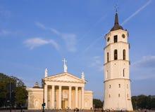 钟楼大教堂维尔纽斯 库存照片