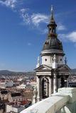钟楼布达佩斯 免版税图库摄影