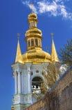 钟楼教会圣洁假定Pechrsk拉夫拉基辅乌克兰 库存照片
