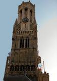 钟楼比利时布鲁基 库存图片
