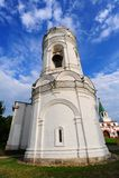 钟楼白色 库存图片
