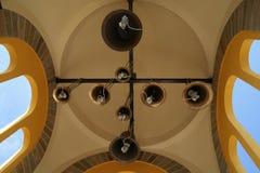 钟楼的细节 免版税库存图片