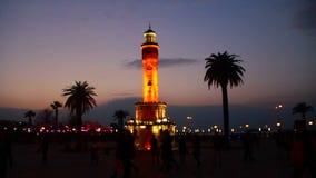 钟楼,可以2016年,土耳其 股票录像