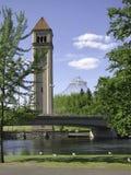 钟楼 免版税图库摄影
