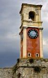 钟楼corfu希腊 库存图片